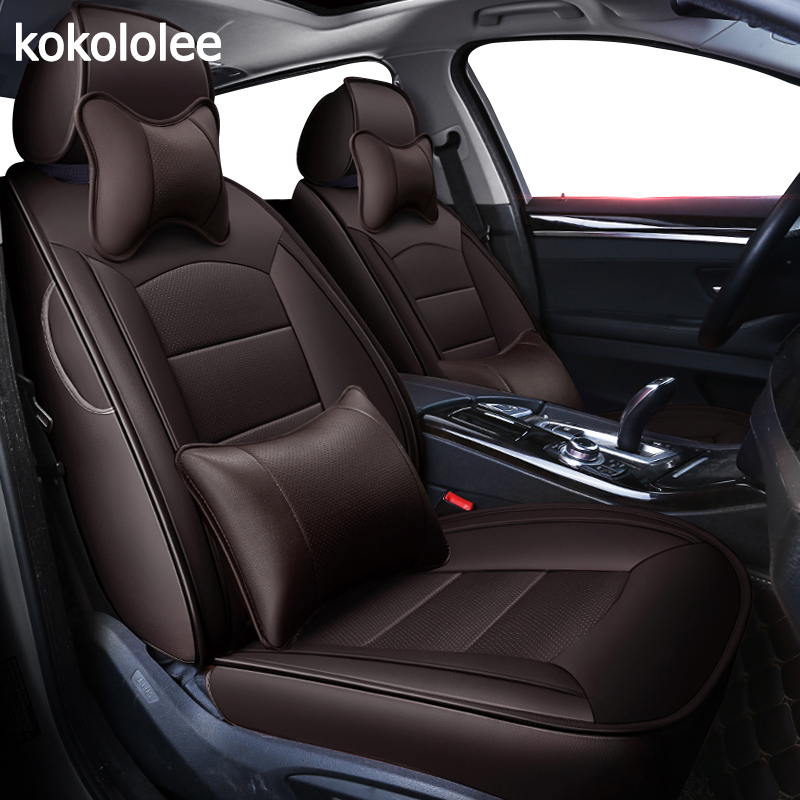 Kokololee Custom Real Leather Car Seat Cover For Acura MDX