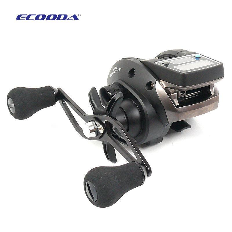 Fishing reel 6kg drag 6 2 1 electronic digital display for Line counter fishing reels