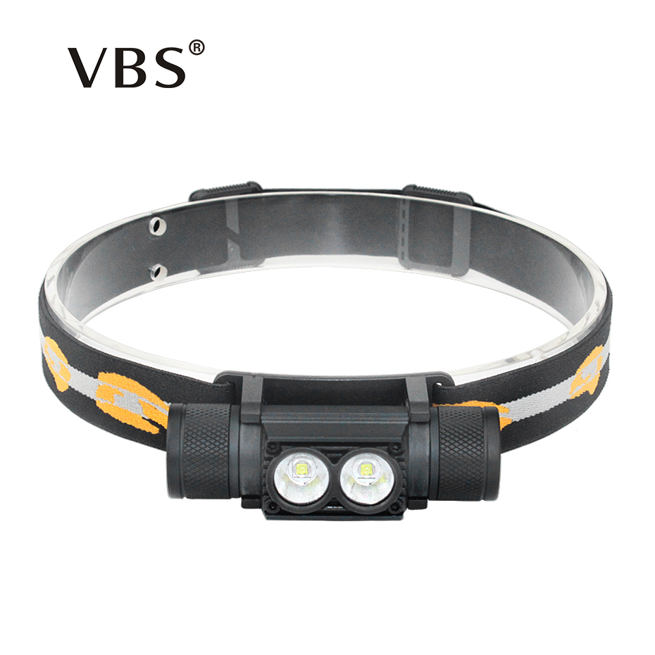 Headlamps <font><b>Led</b></font> Head Lamp 2000LM 10W Head Lamp USB Rechargeable Head <font><b>Led</b></font> Flashlight 2 Bulbs Head <font><b>Led</b></font> Flashlight Cree XML T6