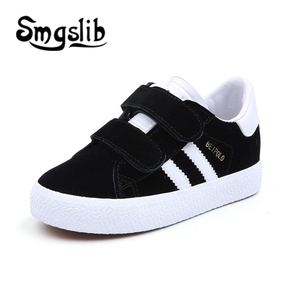 Image 4 - Kids Shoes Children Breathe Boys Sport Trainers Shoes Casual Baby School Flat Leather Sneaker 2020 Girls Sneaker Toddler Shoes