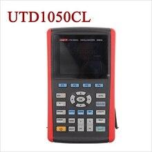 Big discount UNI-T UTD1050CL Handheld Digital Storage Oscilloscope 1 channel 50MHz 200MS/s usb portable Oscilloscopes Free shipping