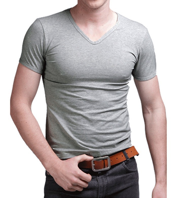c508763efea Detail Feedback Questions about elastic cotton mens t shirts fashion ...