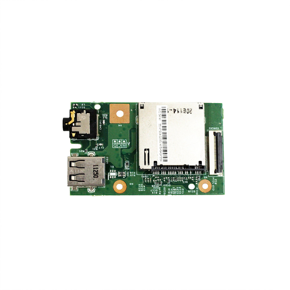 For Lenovo B590 V580 20208 AUDIO USB CARD READER BOARD 48.4TE10.011 55.4YA03.001