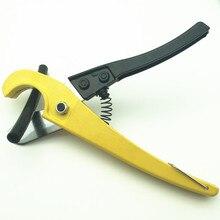 F299 алюминий сплав ножницы труборез инструмент с фиксированным кронштейном и поверхностной живописи процесс для пластик ПВХ PPR трубы резка
