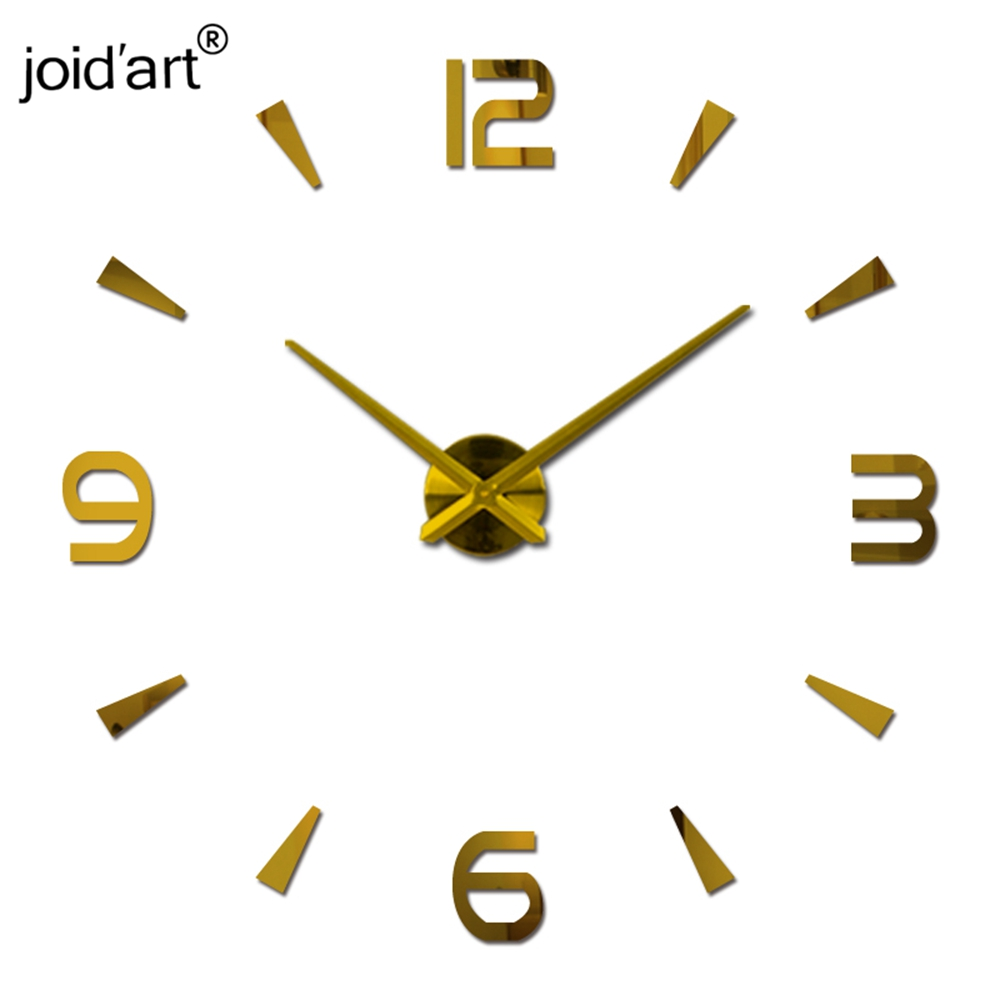 2019 Yeni Diy Duvar Saati Akrilik diy Saatler Kuvars İzle Reloj De - Ev Dekoru - Fotoğraf 2