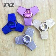 ZXZ Hand Spinner Metal Fidget Spinner Anti Stress Wheel Toy 5mins