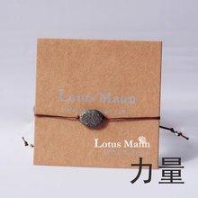 Lotus mann Пирит Камень Браслет молитвенник