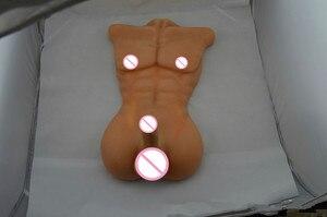 Image 3 - Ailijia 7.5kg מציאותי זכר מלא סיליקון 1:1 גודל בובת מין לנשים הומו צעצועי מוצרים עם גדול דילדו