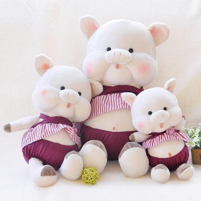 Soft And Lovely Plush Animals Pig Dolls High Quality Toys To Appease Infants Perfect Bab ...