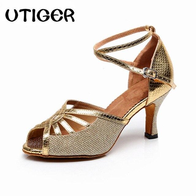 Femelle Chaussures de danse chaussures latine 23h46dY