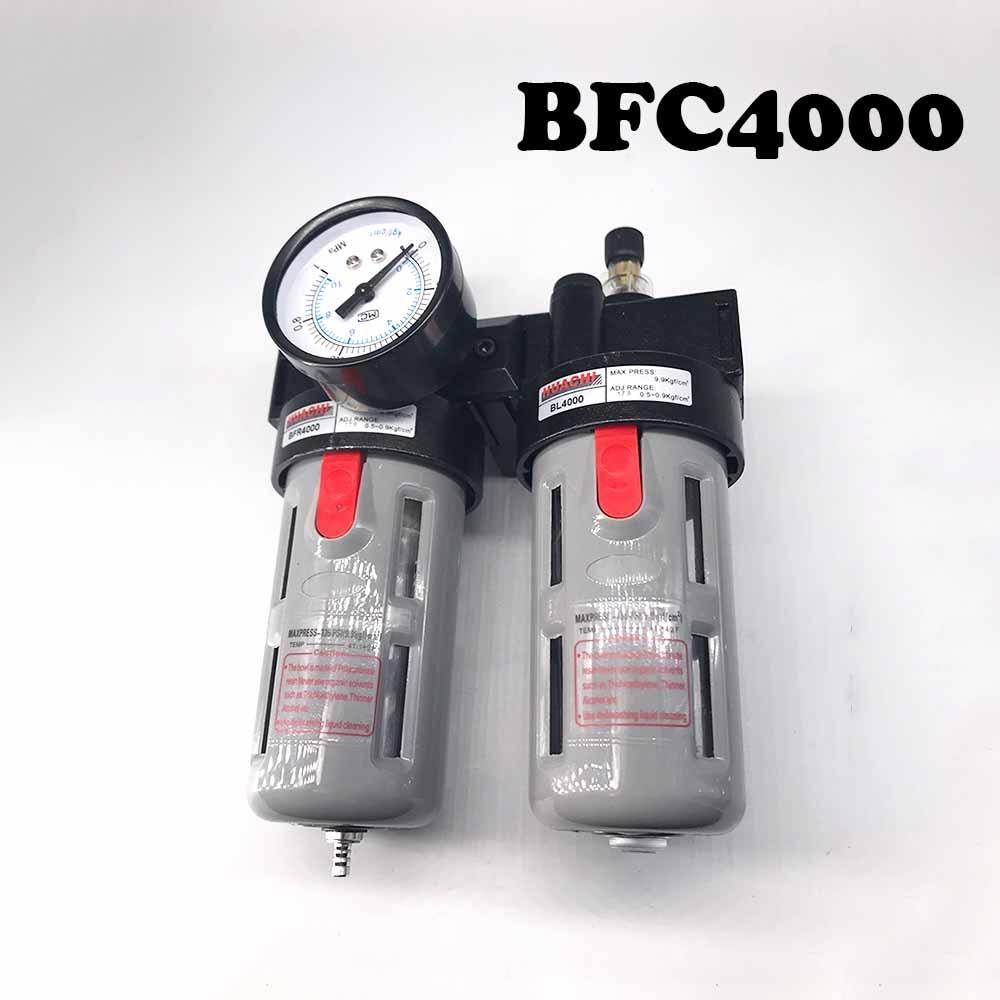 Air processor BFC4000 Free Shipping ,BFR4000 + BL4000 1/2 Air Filter Regulator Combination Lubricator ,FRL Two Union Treatment wavelets processor
