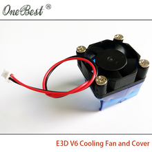 E3DV6 3010 cooling fan with cover 3d printer accessories DIY E3D V6 injection molding radiator cooling fan cover 30*30*10mm
