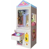 NYST Small Amusement Device Mini Coin Operated Arcade Game Machine Candy Dolls Toys Cranes Claw Machine