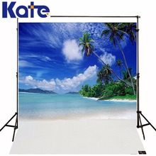 Kate 10x10ft seaside beach foto fundo estúdio de fotografia prop fundo praia costeira skyline3d fotografia bebê backdrop lk 1896