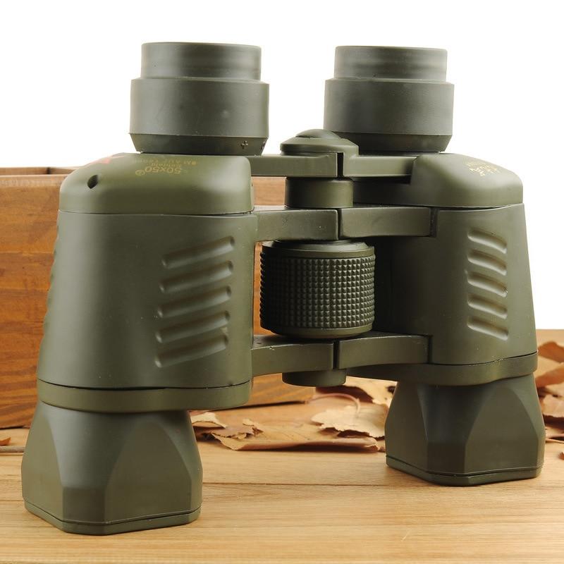 2016 Binoculares 50x50 Profesional Zoom Focus Army Military Pequeño - Camping y senderismo