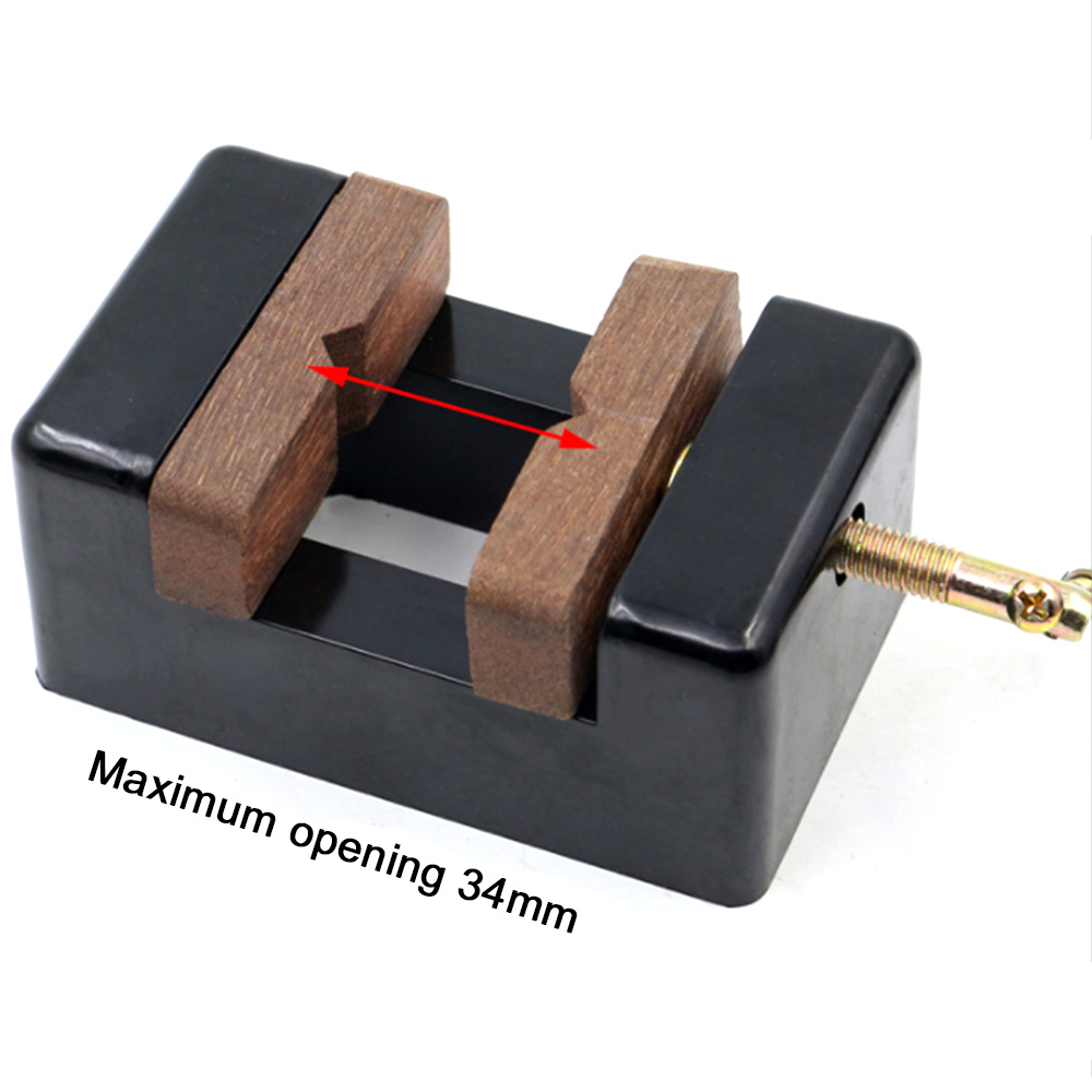 Wood Working Tool Mini Solid Wood Printing Bed Vise Clamp Table Bench Hand Tools For Woodworking Carving Engraving DIY Wood