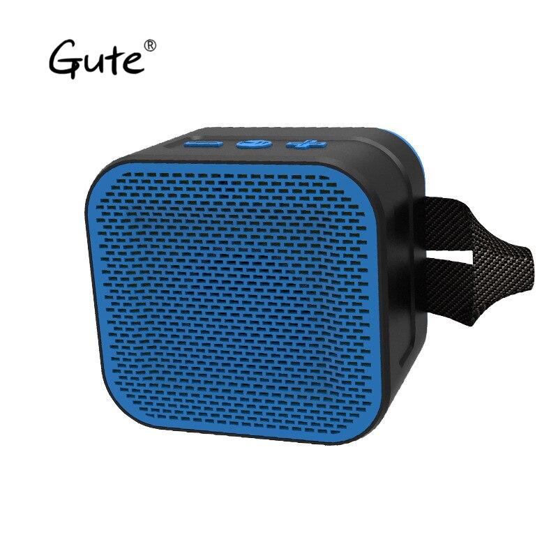 Gute caliente al aire libre impermeable Bluetooth altavoz de radio FM TF tarjeta PC potente altavoz inalámbrico portátil mini xtr abe