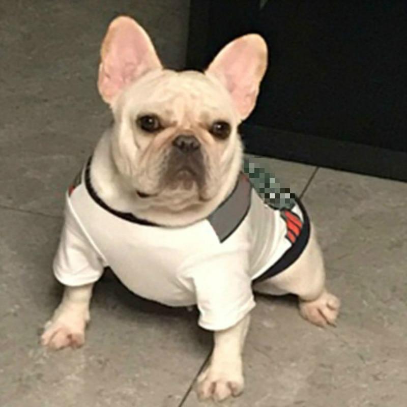 Pet Vest Fashion Repubblica Fiorentina Tide Brand T Shirt Cotton Short Sleeved Teddy Doll French Bulldog