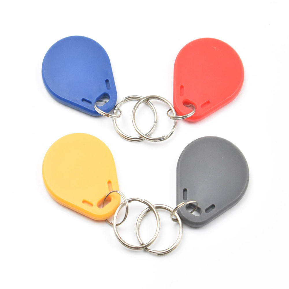 4pcs/lot UID Changeable IC tag keyfob for mif 1k 13.56MHz  Writable mif 0 zero HF ISO14443A hw v7 020 v2 23 ktag master version k tag hardware v6 070 v2 13 k tag 7 020 ecu programming tool use online no token dhl free