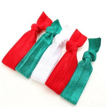 500pcs Christmas Elastic Hair Tie Free Shipping
