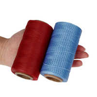 260 Meters Leather Sewing Waxed Thread Cord Leather Craft,1mm 150D String Dacron Line Thread Leather Stitching Tool DIY Material