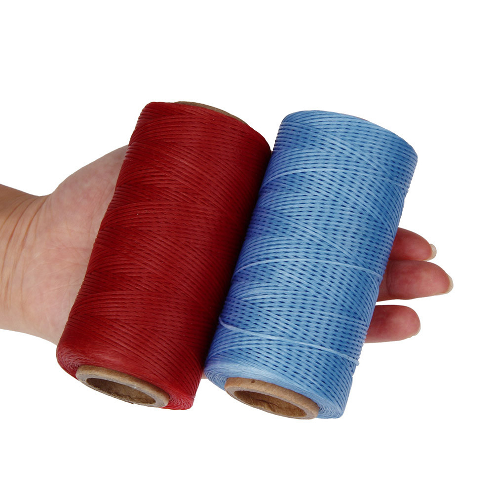 260m Leather Sewing Waxed Thread Cord Leather Craft,1mm Diameter String Dacron Line Thread Leather Stitching Tool DIY Material260m Leather Sewing Waxed Thread Cord Leather Craft,1mm Diameter String Dacron Line Thread Leather Stitching Tool DIY Material