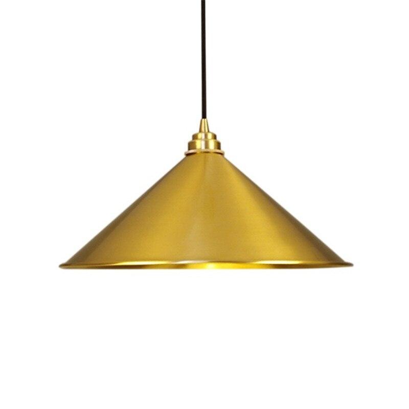 Modern Copper Chandelier Brass Pendant Lamp Nordic Creative bar restaurant table hanging lamp retro loft industrial lighting