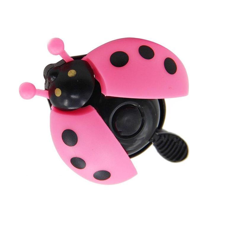 Bicycle Bell Ladybug Beetle Boll Ladybird Alarm Bike Metal Girls Kids Pink-Gift