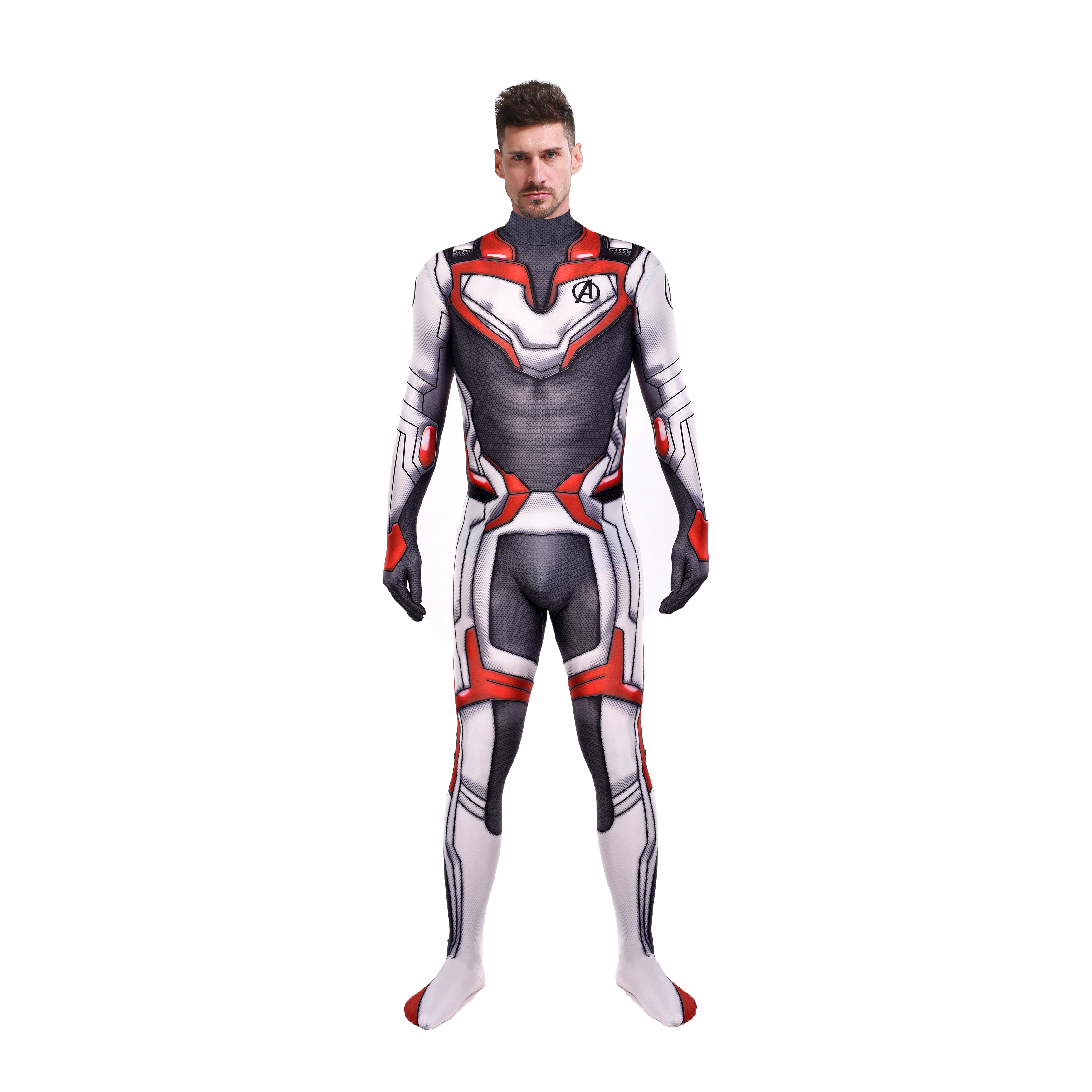 High Quality Avengers 4 Cosplay Costumes 3D Print Lycra 2019 Avengers Endgame film Quantum Realm Team Bodysuits