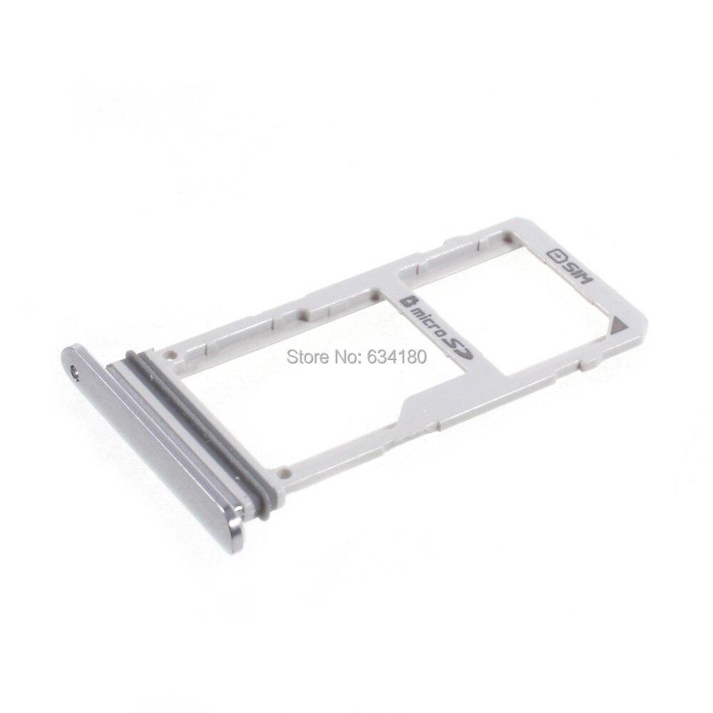 1pcs Dual SIM + MicroSD Card Tray Holder Slot For LG V30