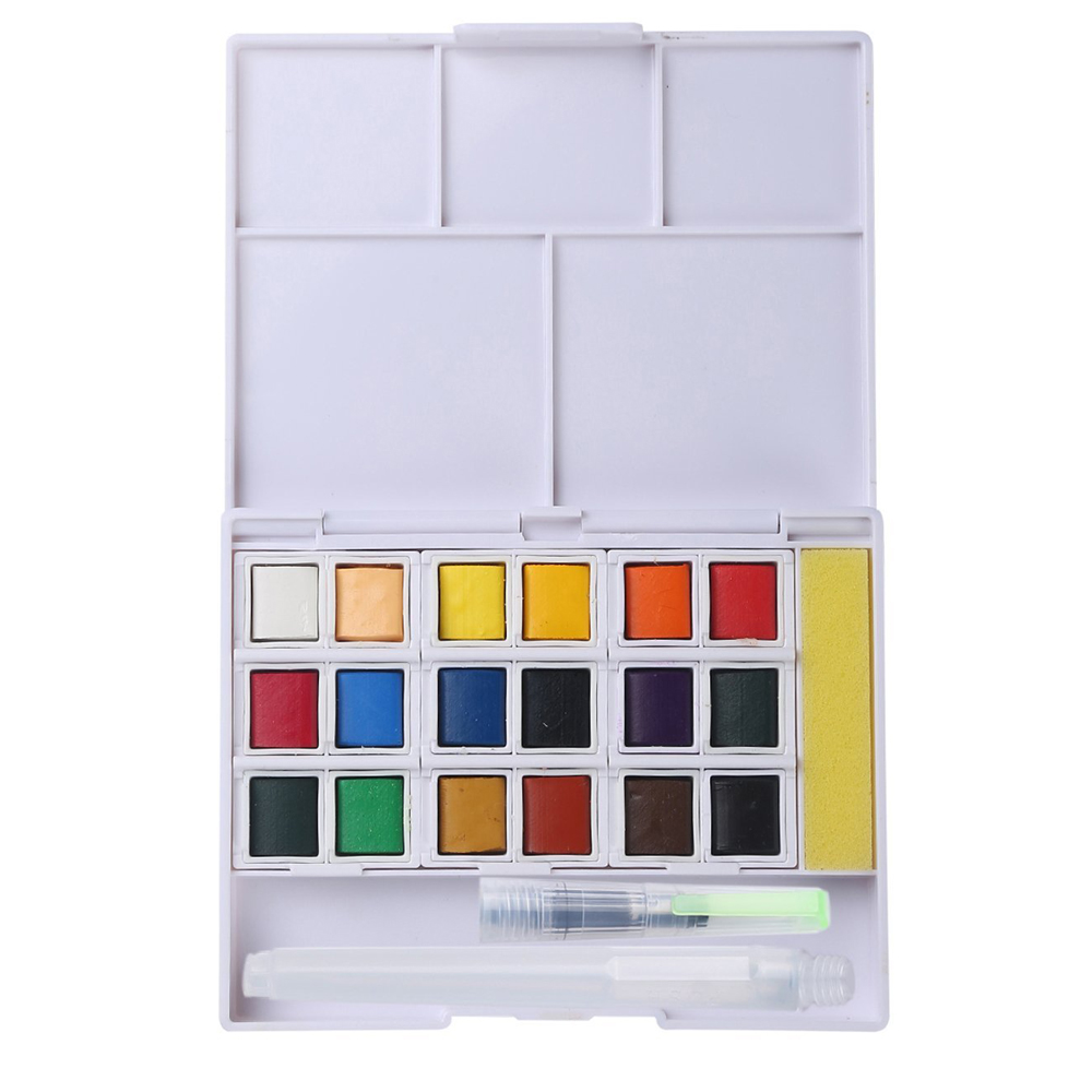 High Quality Watercolors Pocket Field Sketch Box paint palettes watercolor for Professional Artist Student Drawing Art Supplies promotion touchfive 80 color art marker set fatty alcoholic dual headed artist sketch markers pen student standard