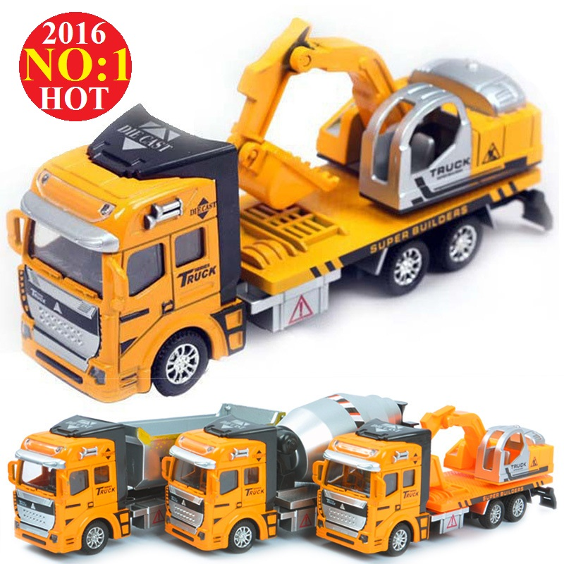 Горячие продаж сплава игрушка инженерных моделей автомобилей дампа автомобилей самосвал/Бетон car/экскаватор модель Классические игрушки д...