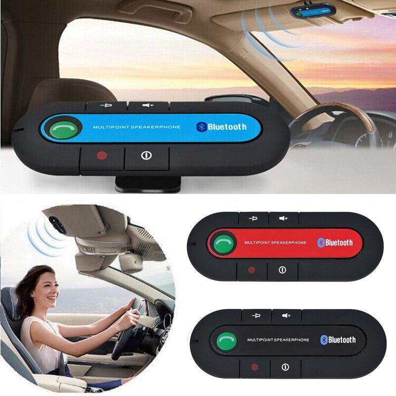 Haut-parleur Mains Libres V4.1 EDR Pare-Soleil Bluetooth 4.1 Kit Mains Libres De Voiture DSP Soutien Siri Anglais Espagnol Français Italien