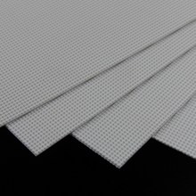 ABS39 2 шт ABS пластик стирол пластик ard Черепицы Лист 215 мм x 300 мм белый архитектурный
