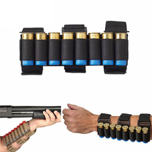 Portable Tactical 8 Round Gun Shell Holder Nylon Ammo Bag Carrier Shooters Mag Pouch Bag