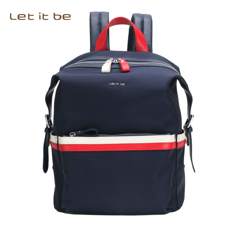 Let it be brand 2017 School of Fashion Backpack  Leisure Korean Ladies Knapsack  Travel Bags for Girls-Adoles 2017 fashion school backpack women men schoolbag back pack leisure korean ladies knapsack laptop travel bags for teenage unisex