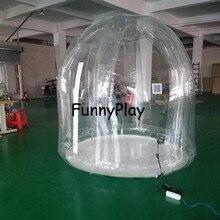 2 м пузырь палатка, надувные палатки для сада кемпинг, индивидуальные надувные палатки, реклама надувные куполообразной палатки