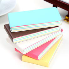купить Cute Mini Smile Notebook Soft Pu Cover Planner Bullet Journal Diary Book Inside Colorful Papers Memo Pad Office School Supplies дешево