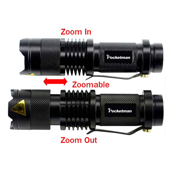 20000LM Q5 LED Headlamp Rechargeable 18650 Torch Adjustable Focus 3 Modes XN