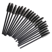 Make Up Hot Selling 100 PCS Disposable One-Off Eyelash Mini Brush Mascara Wands Applicator make up brush