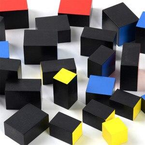 Image 4 - 赤ちゃんのおもちゃモンテッソーリ Trinomial キューブ数学幼児教育就学前トレーニング学習おもちゃグレートギフト