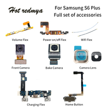 USB Charging Port Dock For Samsung Galaxy S6 Edge Plus G928F Mobile Phone Flex Cables Rear Back Camera+Camera Lens+Volume