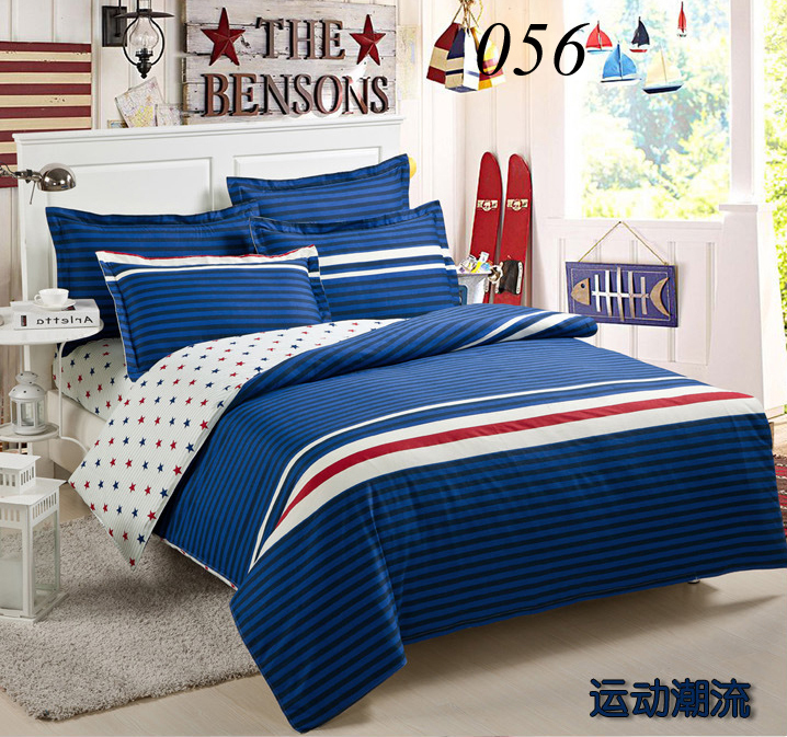 Twin Full Queen King Cotton 4pcs Bedding Sets Bedclothes Set Flat ... : sheets and quilt covers - Adamdwight.com