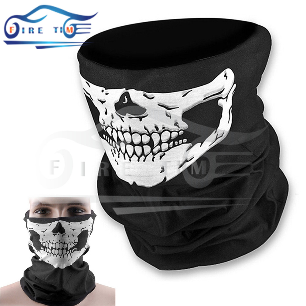 new style motorcycle skull ghost face windproof mask outdoor sports warm ski caps bicycle bike balaclavas