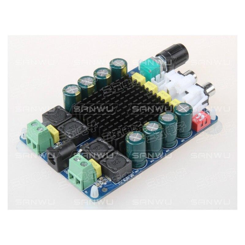 TDA7498 Amplifiers Digital Stereo Power Audio Amplifier Board 2X100W Amplificador Dual Channel Speaker Impedance 8 ohms