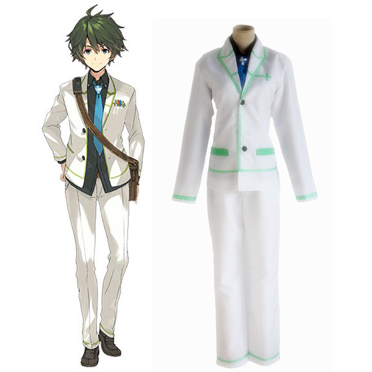 Anime Musaigen no Phantom World IZUMI Reina Ichijo Haruhiko Cosplay Costumes School Unifrom Clothes Suit Outfit