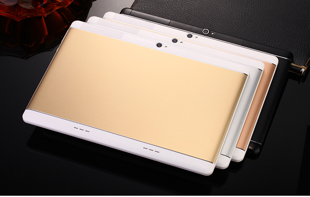 MT8752 S109 10.1' Tablets Android 7.0 8 Core 128GB ROM Dual Camera 8MP Dual SIM 1920X1200 GPS bluetooth Tablet phone