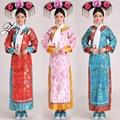 Китайской династии цин костюм новый костюм принцессы с головные уборы 5 цвет древние китайские платье розничная бесплатная доставка