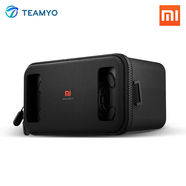 Original Xiaomi VR Glass Mi Box Virtual Reality 3D Glasses Immersive Headset Cardboard for 4.7- 5.7 inches Android Smartphones