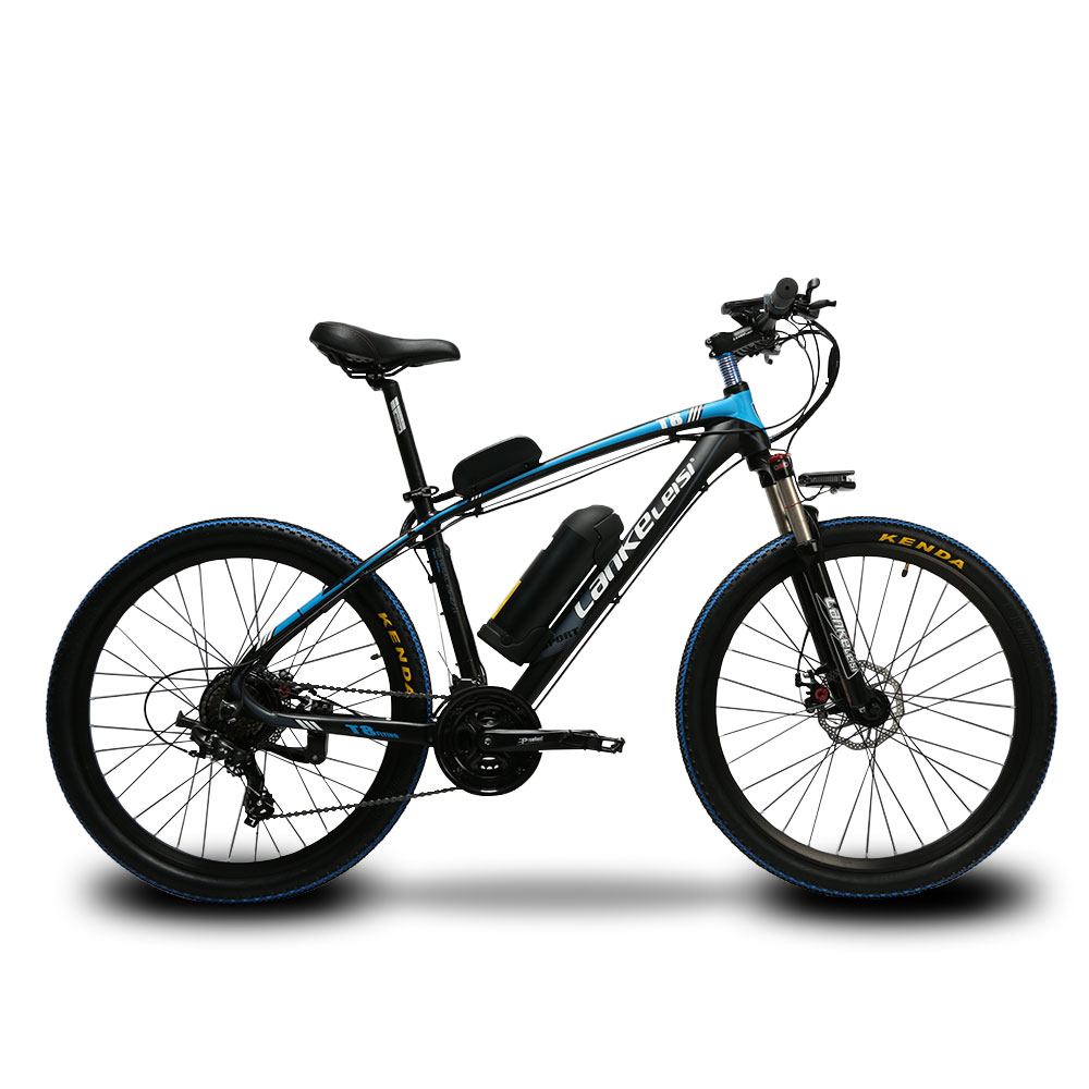 Lankeleisi MX3.8 Mans Fast 21 Speeds Moutain Electric Bicycle 240Watt 48V 10HA Double Di ...